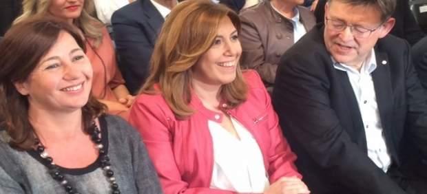 La campanya de suport a Susana Díaz a la Comunitat Valenciana recorre 14 municipis de les tres províncies
