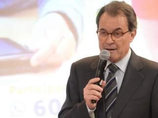 El presidente del PDeCAT, Artur Mas.