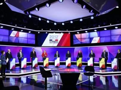 Presidenciales Francia - Debate