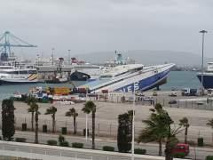Embarcación Panogia Parou en Algeciras