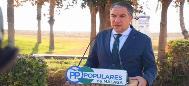 Elías Bendodo portavoz PP-A presidente PP Málaga