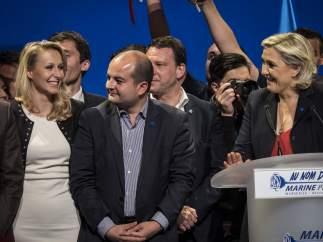 Los herederos de Marine Le Pen, jóvenes radicales pero bien formados
