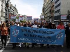 Las manifestaciones en favor de la ciencia ocupan España