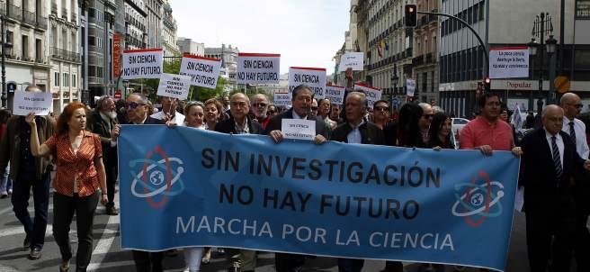 Marcha Mundial por la ciencia.