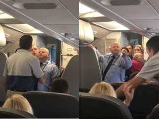 Altercado en un avión de American Airlines