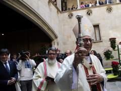 """El arzobispo de Barcelona llama en Sant Jordi a luchar contra """"quien divide"""""""
