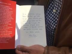 Patxi López dedica a Sánchez su nuevo libro