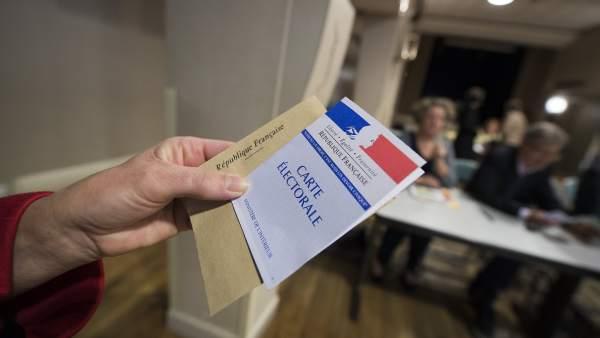 Papeleta en Francia