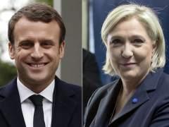 Macron y Le Pen se disputarán la segunda vuelta