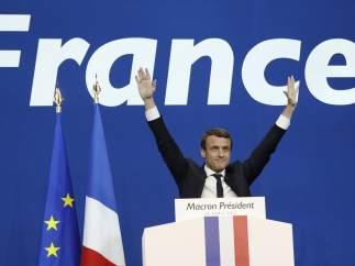 """Macron: """"El objetivo no es votar contra una persona, es romper con un sistema que no ha funcionado en 30 años"""""""