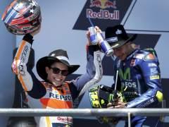 Márquez neutraliza el 'efecto Viñales': gana en Austin y Rossi lidera MotoGP