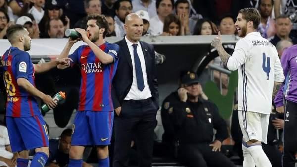 """Sergio Ramos: """"Piqué se ha llevado el gato al agua"""""""