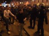 Disturbios después de las elecciones en Francia