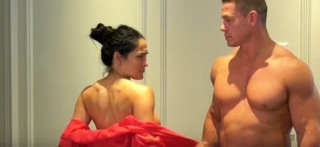 John Cena y su novia Nikki Bella
