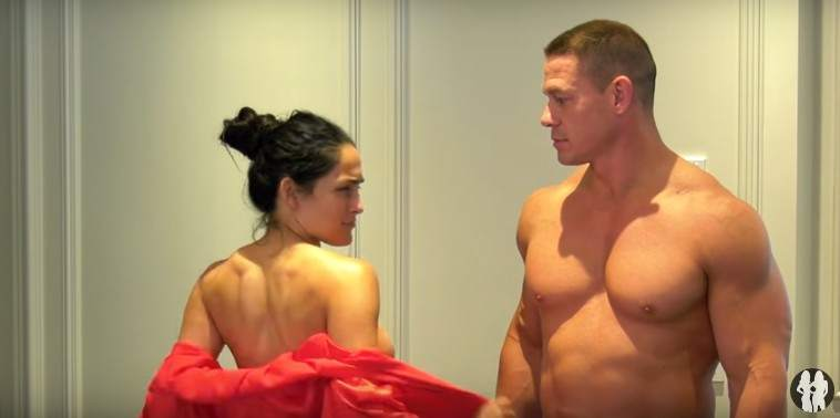 El luchador John Cena y su esposa Nikki Bella bailaron
