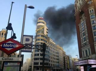 Incendio en Callao