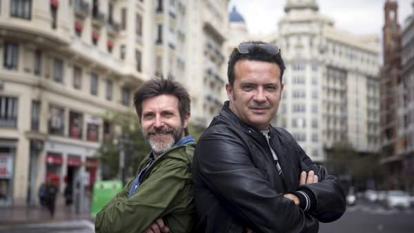 Paco Roca y José Manuel Casañ