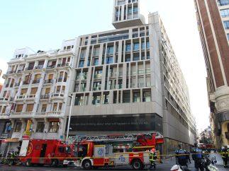 Despliegue de los bomberos