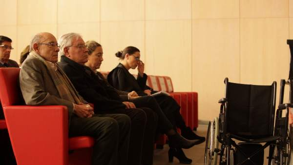 Fèlix Millet, Jordi Montull y Gemma Montull en el juicio del caso Palau.