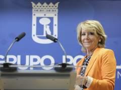 Esperanza Aguirre dimite tras la imputación de González