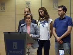 """Los socialistas dicen que Aguirre es """"la madre de la corrupción"""" y que su dimisión llega """"tarde"""""""