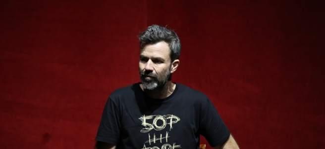 Pau Donés presentando '50 palos'