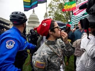 Detenidos por fumar marihuana