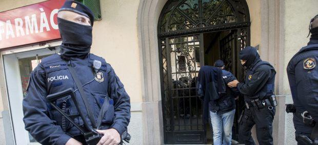 Operación antiyihadista en Barcelona