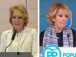 Las tres dimisiones de Esperanza Aguirre