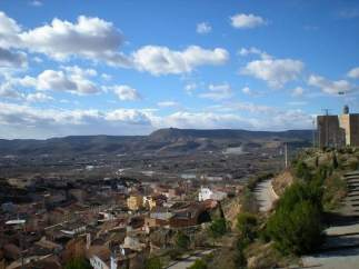 Vista Aérea De Fraga (Huesca)