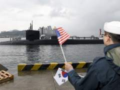 Sigue la tensión en Corea del Norte con el envío de un submarino de EE UU
