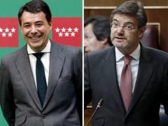 """El ministro Catalá le envió un SMS a González deseándole """"que se cierren pronto los líos"""""""