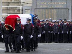 Funeral por el compañero asesinado