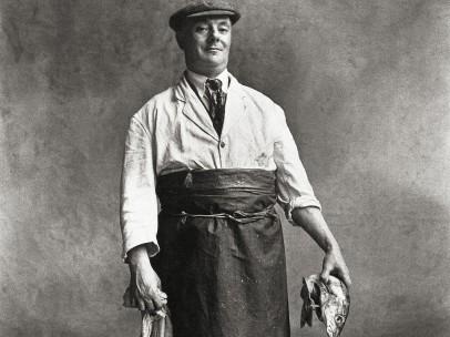 Irving Penn (American, 1917–2009) - Fishmonger, London, 1950