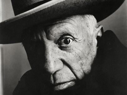 Irving Penn (American, 1917–2009) - Pablo Picasso at La Californie, Cannes, 1957