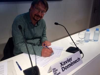 El portavoz del los 'comuns', Xavier Domènech.