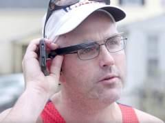Un corredor casi ciego completa el maratón de Boston ayudado por ojos digitales