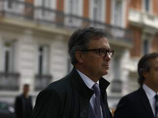 Jordi Pujol Ferrusola llega a la Audiencia Nacional para declarar.