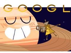 Google dedica un 'doodle' a la sonda Cassini