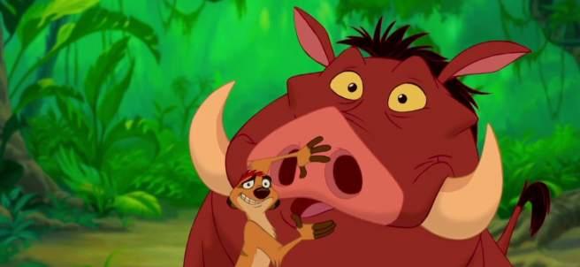 Timón y Pumba