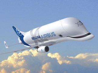 BelugaXL, un avión que sonríe a su paso