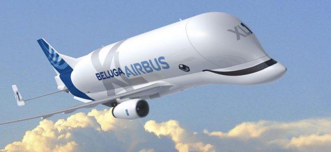 BelugaXL, el 'avión ballena' que sonríe mientras vuela