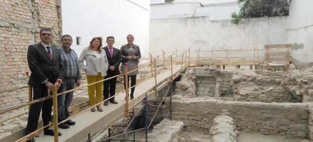 Lugar de las excavaciones arqueológicas