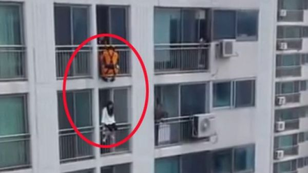 Evita que se suicide de una manera impactante