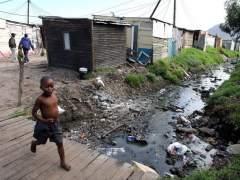Chabolas en Sudáfrica