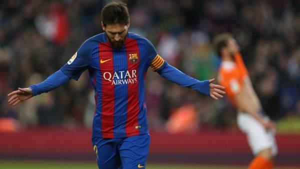 Gol de Messi a Osasuna