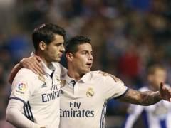 Exhibición de los suplentes del Real Madrid en Riazor