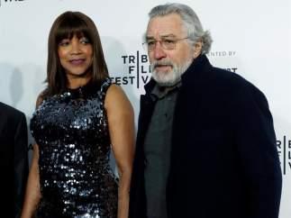 Robert De Niro y su esposa, Grace Hightower
