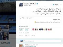 """Al-Thani, jeque del Málaga: """"La escoria de Cataluña no olerá el campeonato"""""""