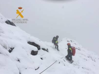 Rescate de montañeros en Picos de Europa